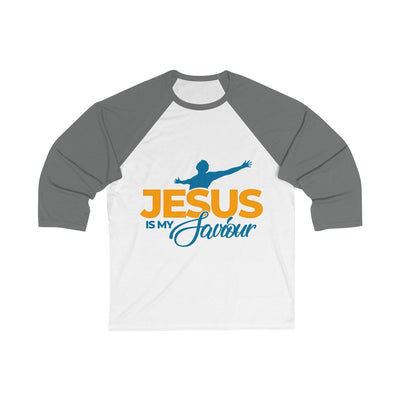 JesusmySaviour Sleeve Baseball Tee