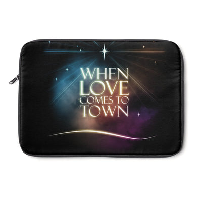Laptop Sleeve-Love came down