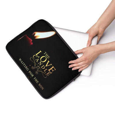 Laptop Sleeve-Love candle
