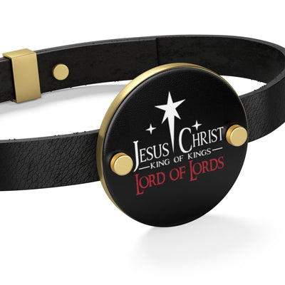 Leather Bracelet-Lord of  Lords