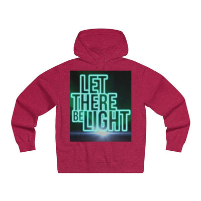 Let There Be Light (Men's Lightweight Pullover Hooded Sweatshirt)