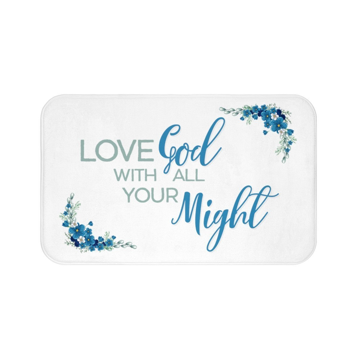 Love Might Bath Mat