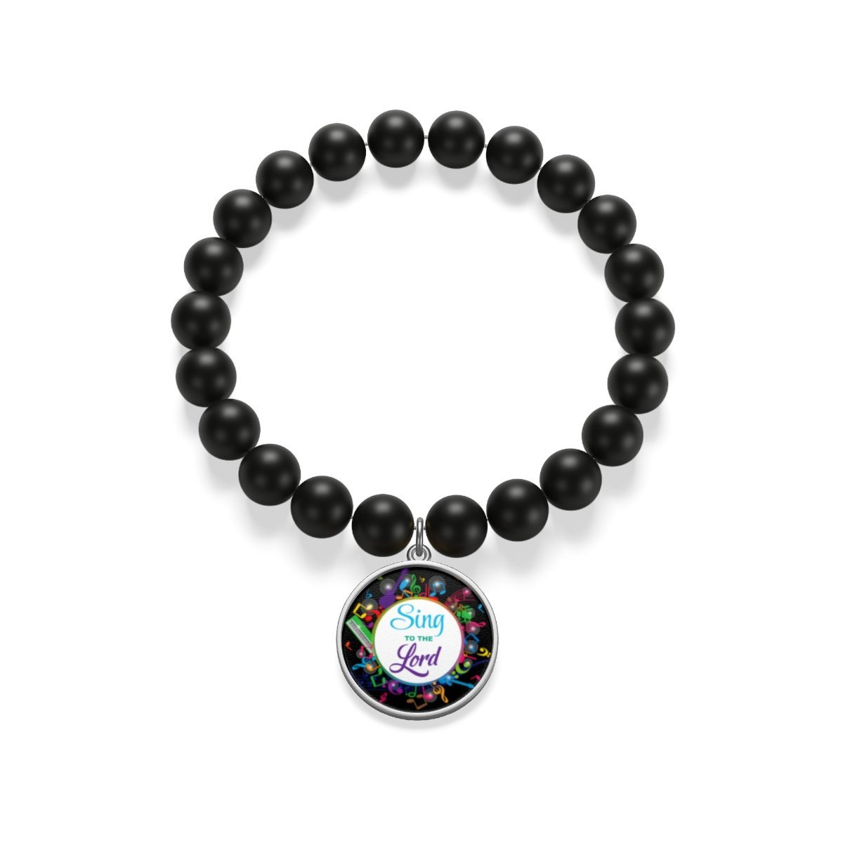 Matte Onyx Bracelet - Sing To The Song