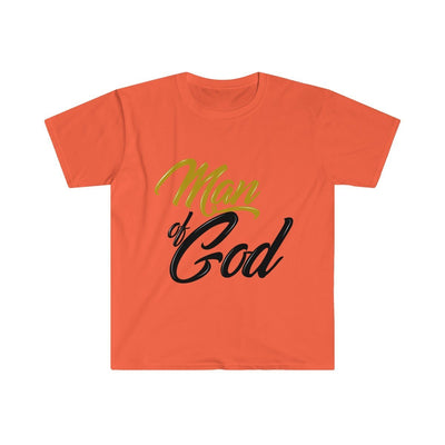 Men's Fitted Short Sleeve Tee- Man of God
