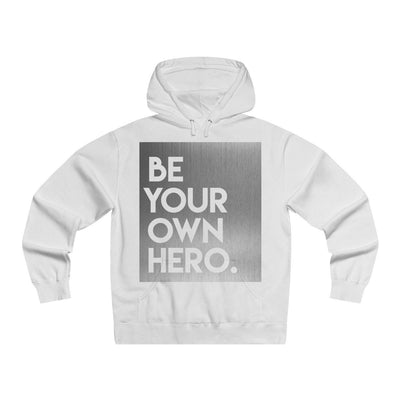 Men's Lightweight Pullover Hooded Sweatshirt Silver