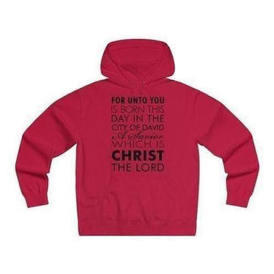 Men's Savior Lightweight Pullover Hooded Sweatshirt - The Divine Bazaar