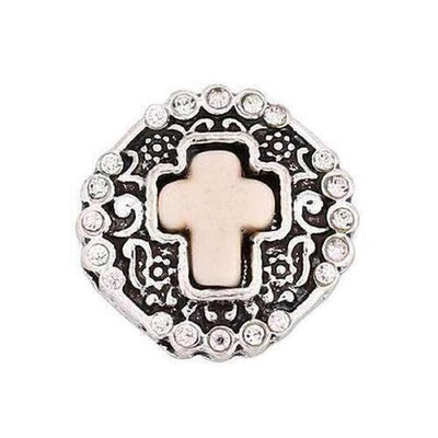 Metal Fit 18mm Snap Button Bracelet - The Divine Bazaar