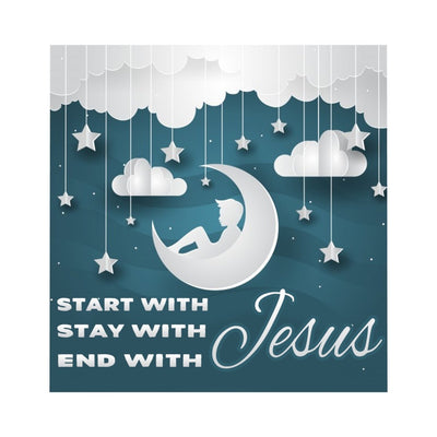 Microfiber Duvet Cover- With Jesus