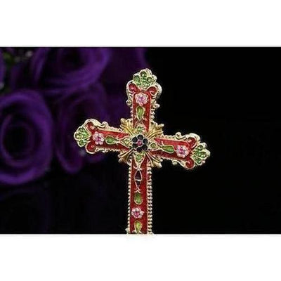 Newest Design Metal Colorful Cross - The Divine Bazaar