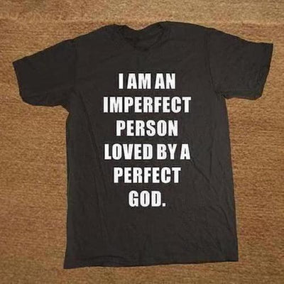 PERFECT GOD and christian Jesus T-shirt - The Divine Bazaar