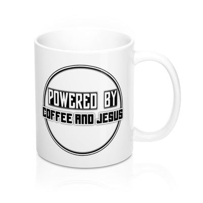 Powered by C & J Mug