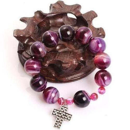 Prayer Rosary Beads Bracelet - The Divine Bazaar