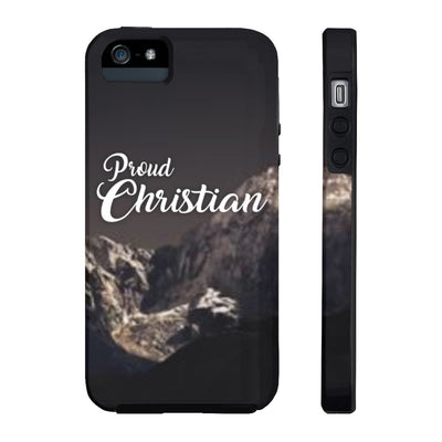 Proud Christian (Case Mate Tough Phone Cases)