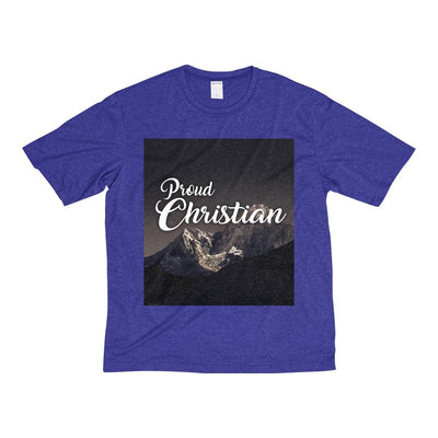 Proud Christian (Men's Heather Dri-Fit Tee)