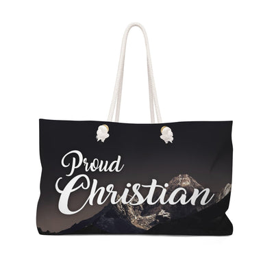 Proud Christian Weekender Bag