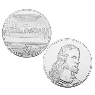 Jesus The Last Supper Commemorative Challenge Coin - The Divine Bazaar