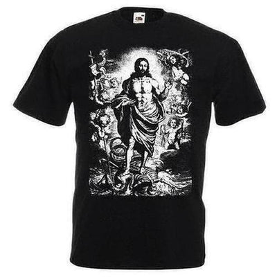 Resurrection Of Jesus Male Designing T-shirt - The Divine Bazaar