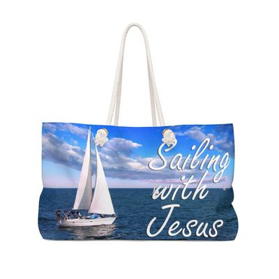 Sailing with Jesus Weekender Bag
