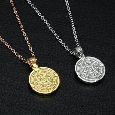 Saint Benedict Medal Pendants & Necklaces - The Divine Bazaar