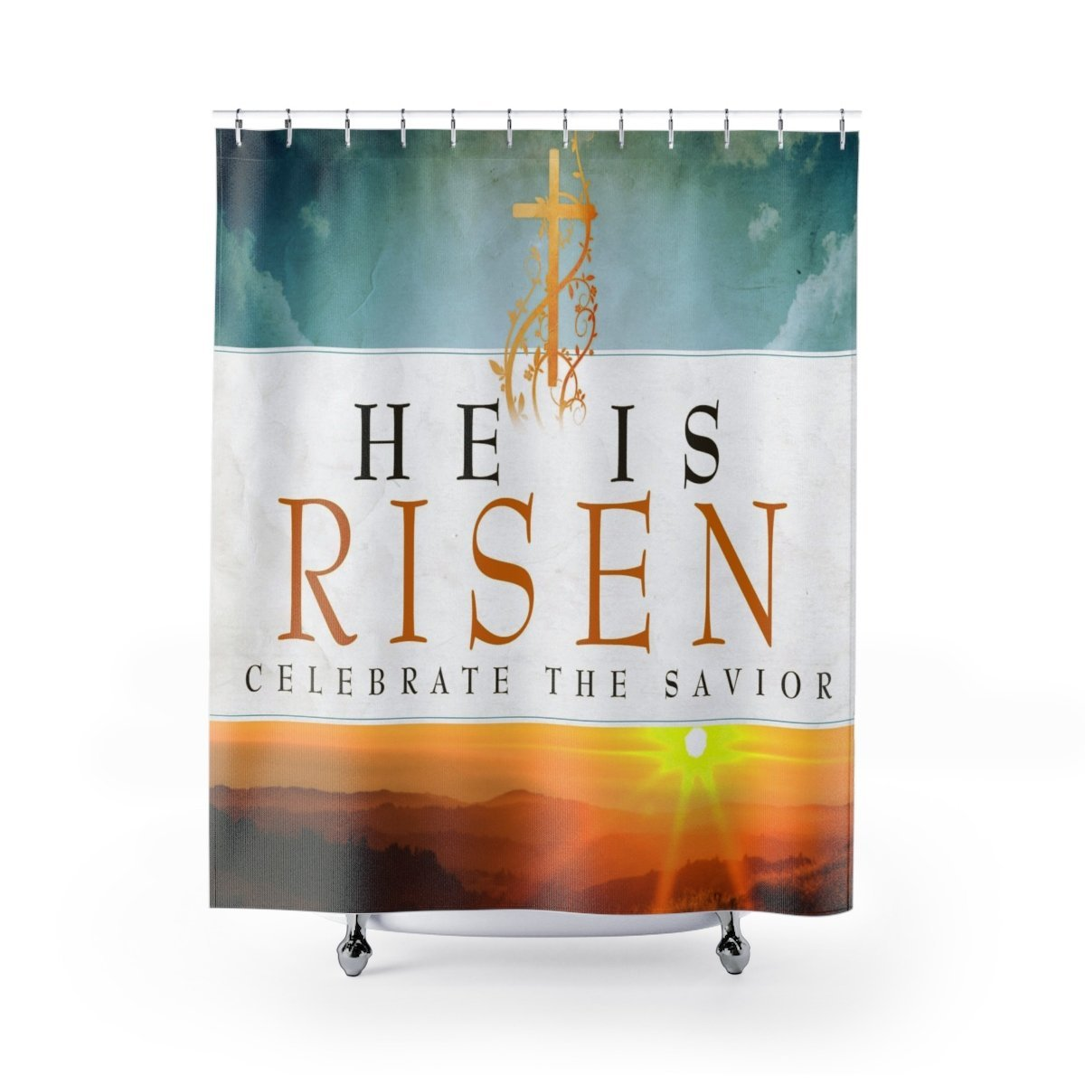 Shower Curtains- He is risen