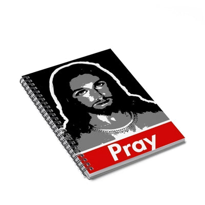 Pray Spiral Notebook - Ruled Line