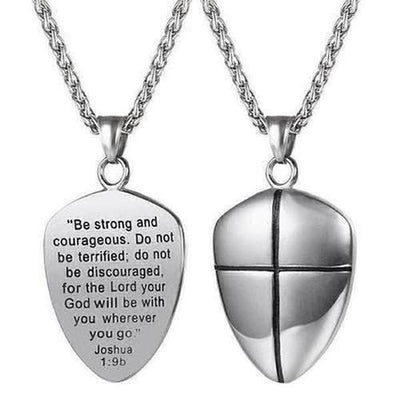 Stainless Steel Bible Verse Necklace - The Divine Bazaar
