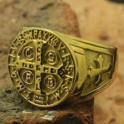 Stainless Steel Christianity Ring - The Divine Bazaar