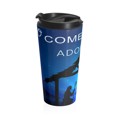 Stainless Steel Travel Mug- Adore Him