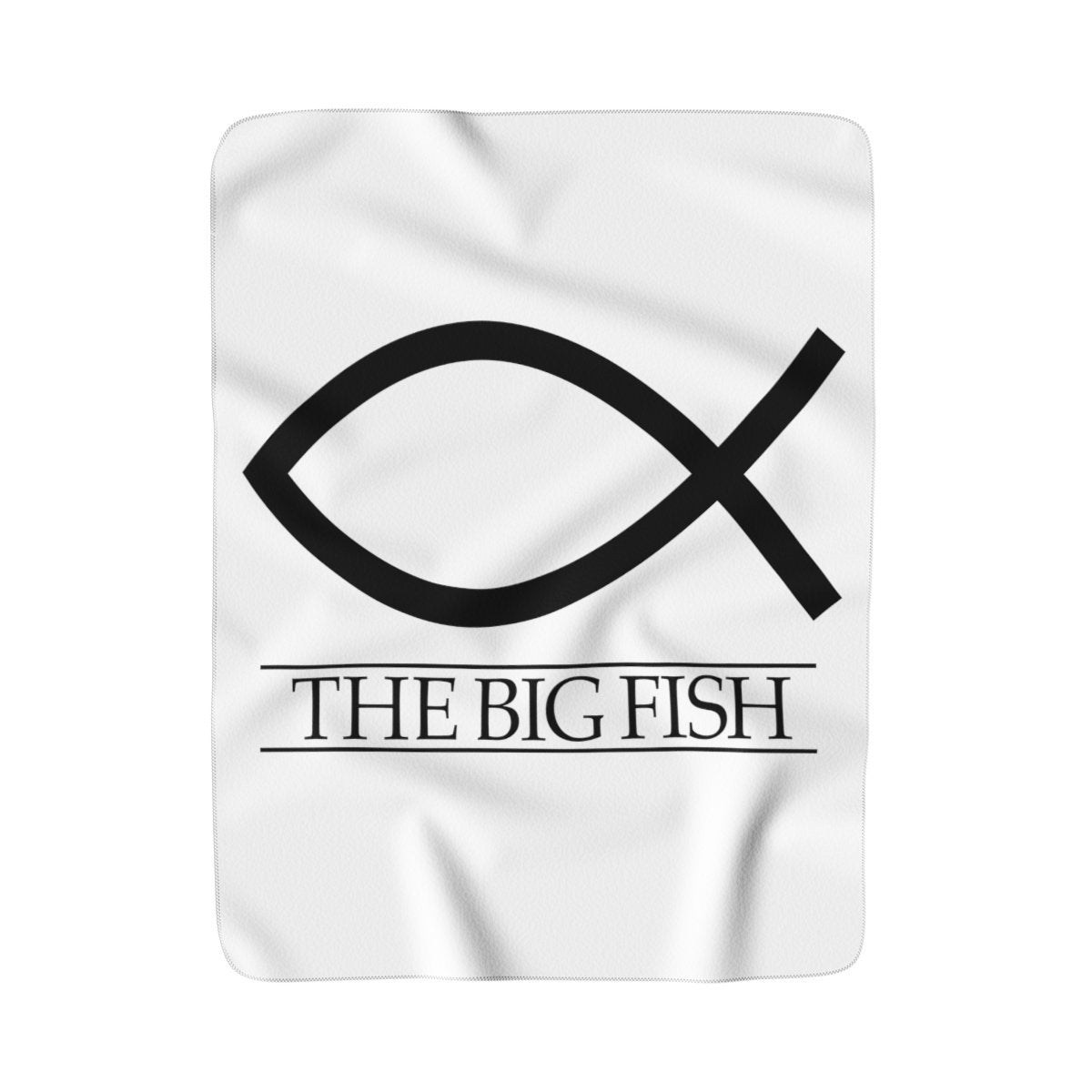 The Big Fish - Sherpa Fleece Blanket