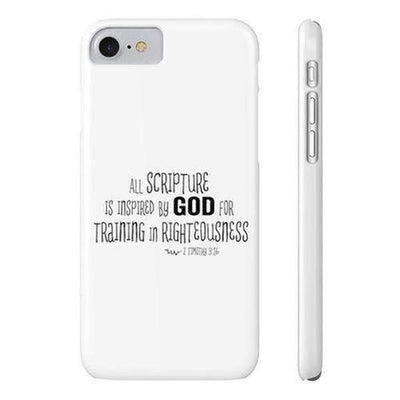 Timothy 3:16 Phone Case - The Divine Bazaar