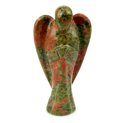 Unakite Angel Carry Stone