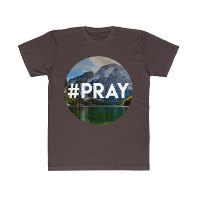 Unisex Fitted Tee- #Pray