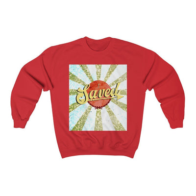 Saved Unisex Heavy Blend™ Crewneck Sweatshirt