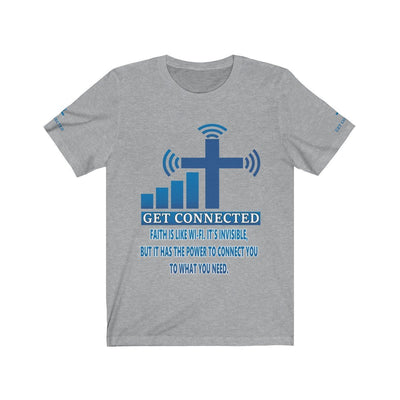 Unisex Jersey Short Sleeve Tee -Connected