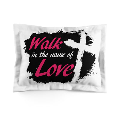 WalkinLove Microfiber Pillow Sham