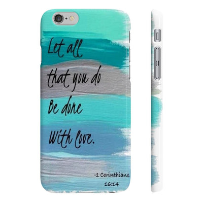 Wpaps Slim Phone Cases- Done with love