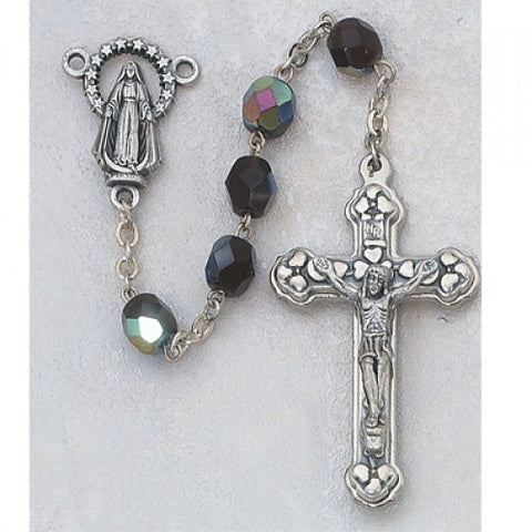 January Birthstone Rosary (Garnet)
