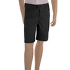 Girls Black Adjustable Waist Shorts
