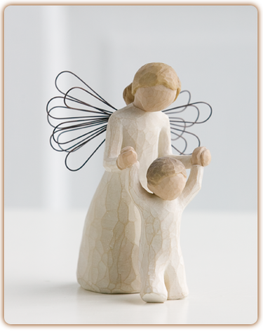 Guardian Angel - Willow Tree Figurine