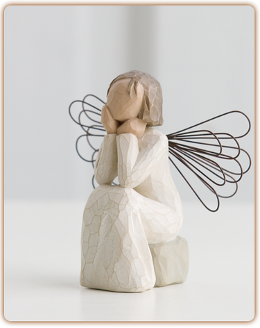Angel of Caring - Willow Tree Figurine