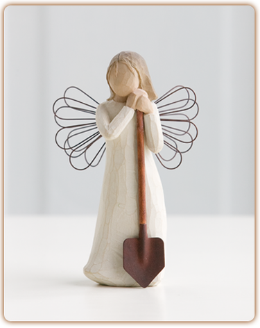 Angel of the Garden - Willow Tree Figurine