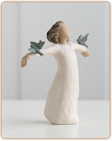 Happiness - Willow Tree Figurine