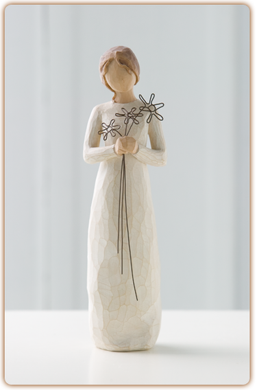 Grateful - Willow Tree Figurine