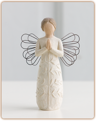 A Tree, A Prayer - Willow Tree Figurine