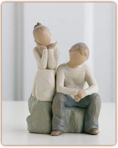 Brother and Sister - Willow Tree Figurine
