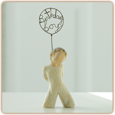 Birthday Boy - Willow Tree Figurine