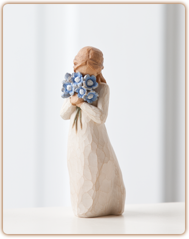 Forget-me-not - Willow Tree Figurine
