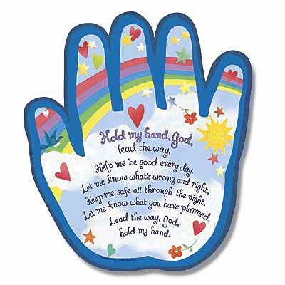 Hold My Hand Plaque