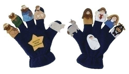 Nativity Puppet Gloves