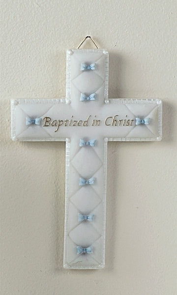 Boy Baptism Cross